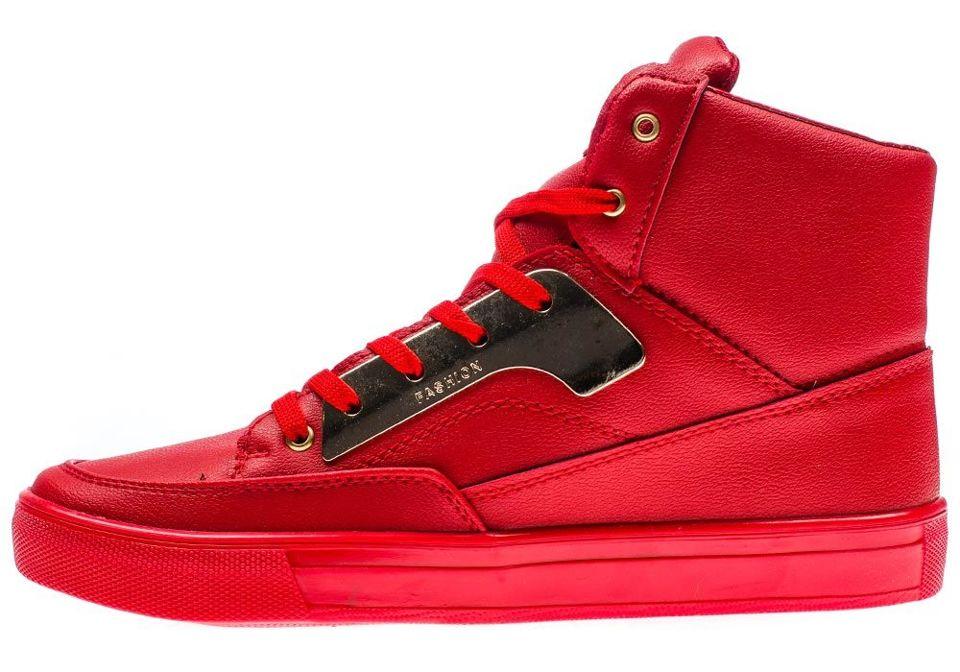 Červená pánská obuv Bolf 3033
