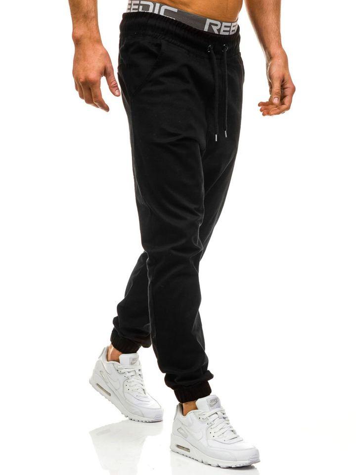 Pánské kalhoty ATHLETIC 0399 černé