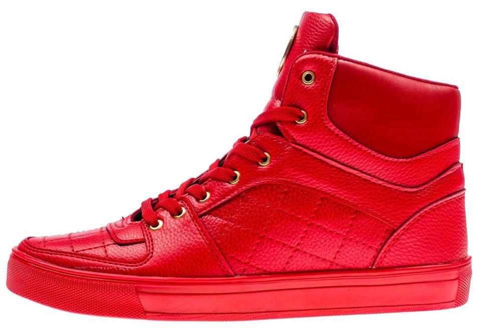 Červená pánská obuv Bolf 886