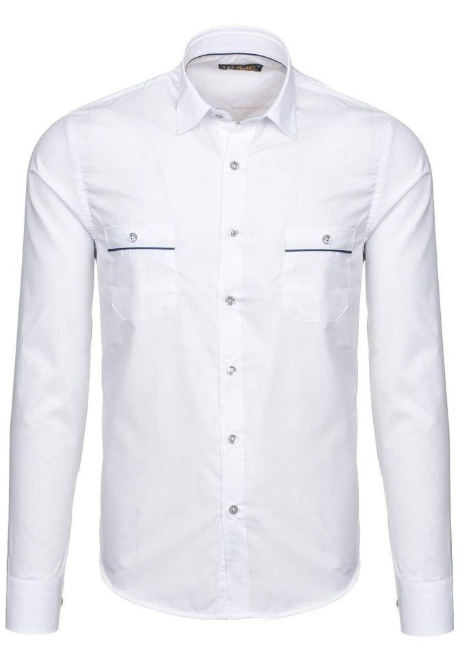 Pánská košile BOLF 5792 bílá